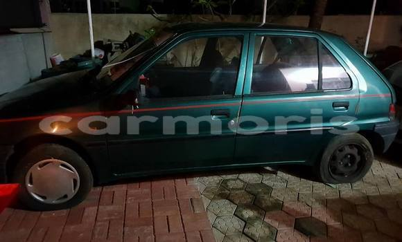 Buy Used Peugeot 106 Green Car in Pamplemousses in Pamplemousses District