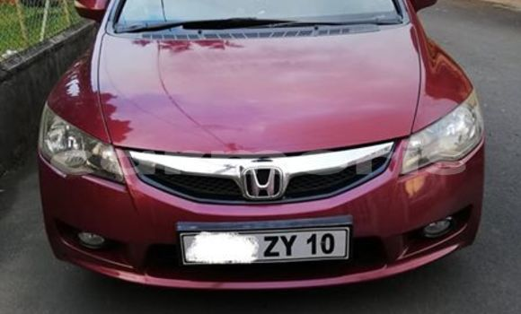 Buy Used Honda Civic Red Car in Central Flacq in Flacq