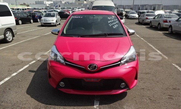 Buy Used Toyota Vitz Red Car in Port Louis in Port Louis District