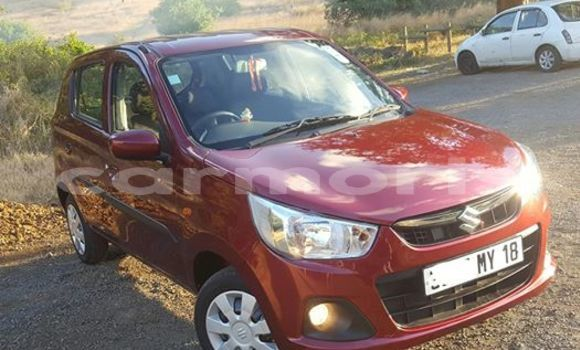 Buy Used Suzuki Alto Red Car in Port Louis in Port Louis District