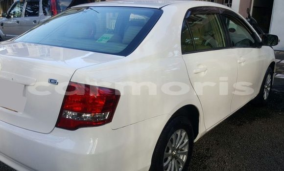 Buy Used Toyota Axio White Car in Rose Belle in Grand Port District