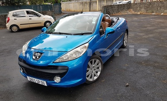 Buy Used Peugeot 206 Blue Car in Beau Bassin–Rose Hill in Plaines Wilhems District