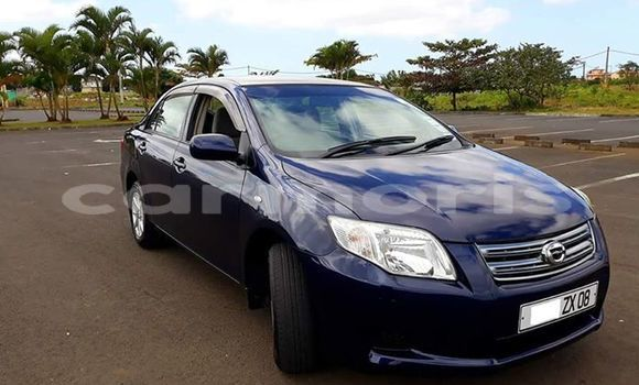 Buy Used Toyota Axio Blue Car in Rose Belle in Grand Port District