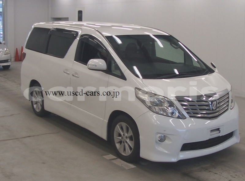 Big with watermark used car for sale in japan toyota alphard 2009 for sale 1
