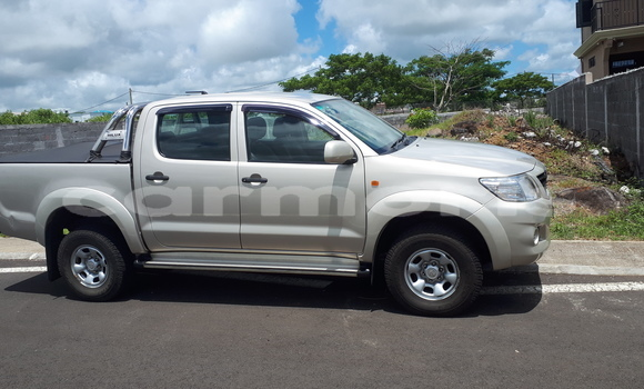 Buy Used Toyota Hilux Brown Car in Saint Julien d'Hotman in Flacq