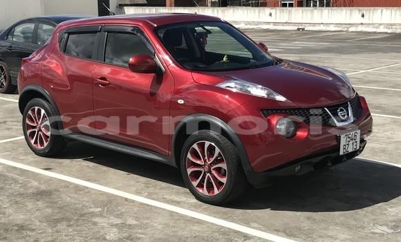 Buy Used Nissan Juke Red Car in Curepipe in Plaines Wilhems District