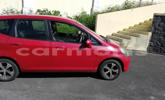 Buy Used Honda FIT Red Car in Port Louis in Port Louis District