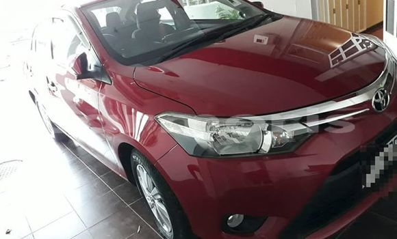 Buy Used Toyota Yaris Red Car in Port Louis in Port Louis District