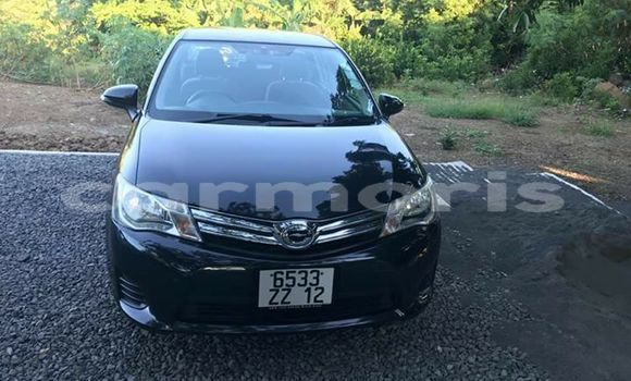 Buy Used Toyota Axio Black Car in Pamplemousses in Pamplemousses District