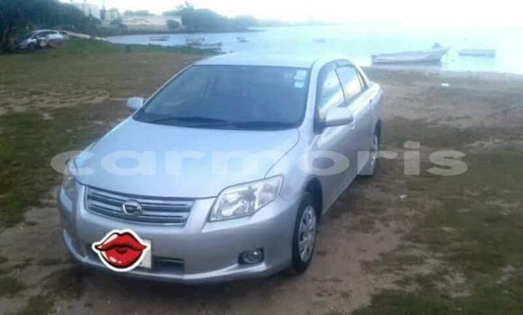 Buy Used Toyota Axio Silver Car in Port Louis in Port Louis District