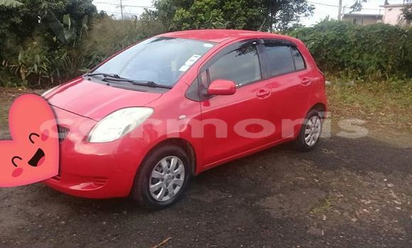 Buy Used Toyota Vitz Red Car in Bois Cheri in Savanne