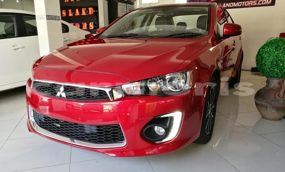Buy Used Mitsubishi Lancer Red Car in Port Louis in Port Louis District