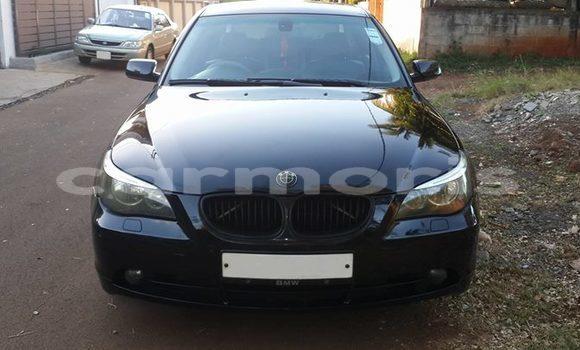 Buy Used BMW 5-Series Black Car in Port Louis in Port Louis District