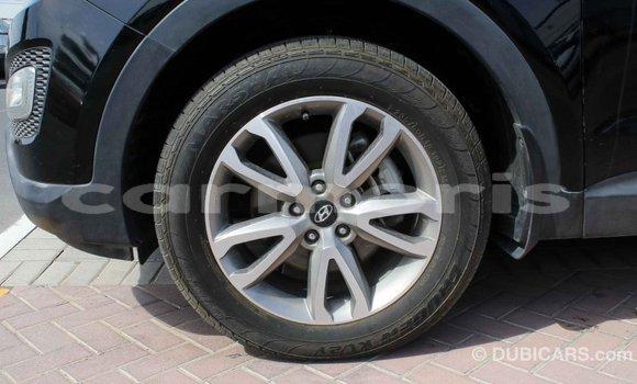 Buy Import Hyundai Santa Fe Black Car in Import - Dubai in Agalega Islands