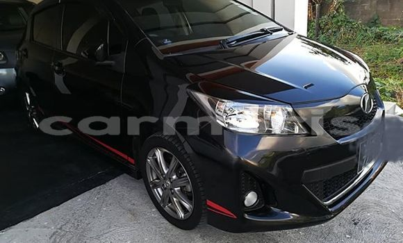 Buy Used Toyota Vitz Black Car in Vacoas-Phoenix in Plaines Wilhems District