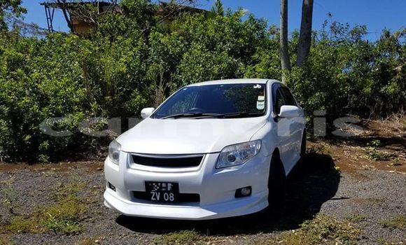 Buy Used Toyota Axio White Car in Port Louis in Port Louis District