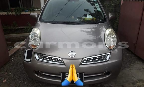 Buy Used Nissan March Brown Car in Port Louis in Port Louis District
