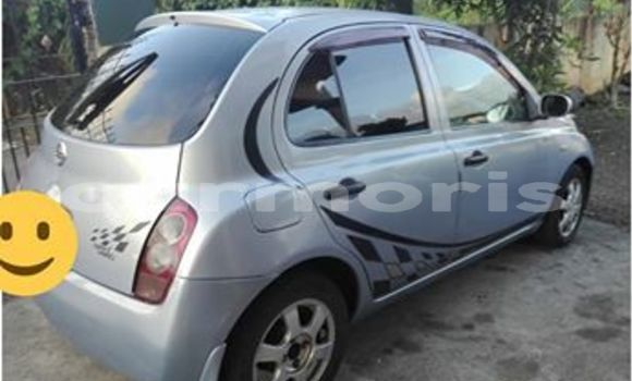 Buy Used Nissan March Silver Car in Port Louis in Port Louis District