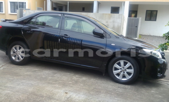 Buy Used Toyota Corolla Black Car in Mahébourg in Grand Port District